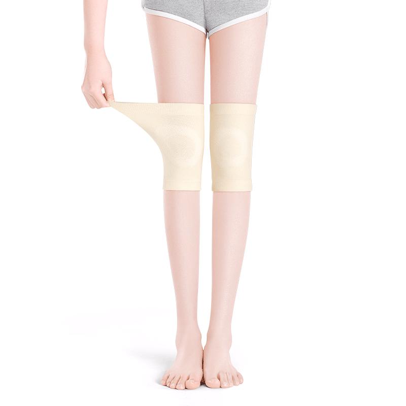 恒源祥护膝盖保护套保暖老寒腿男女士漆关节夏季薄款老人空调防寒