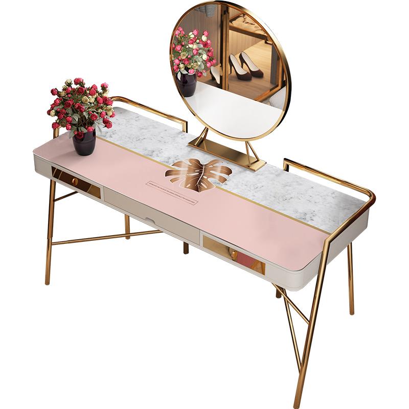 化妆台桌面垫ins网红梳妆台桌布质量如何