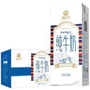 高原之宝西藏营养早餐奶*纯牛奶