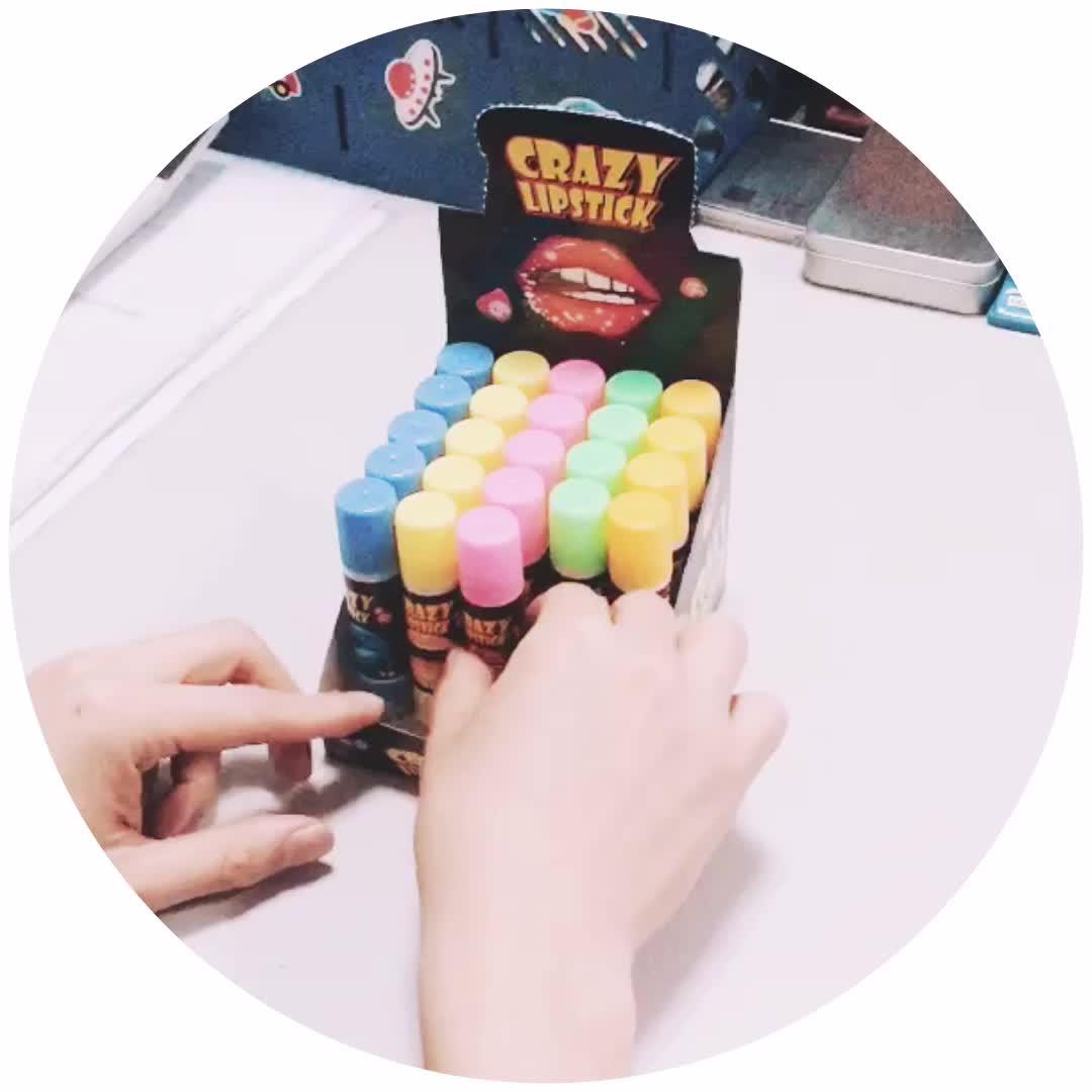 Crazy Lipstick Candy Jam / Liquid Candy in Lipstick