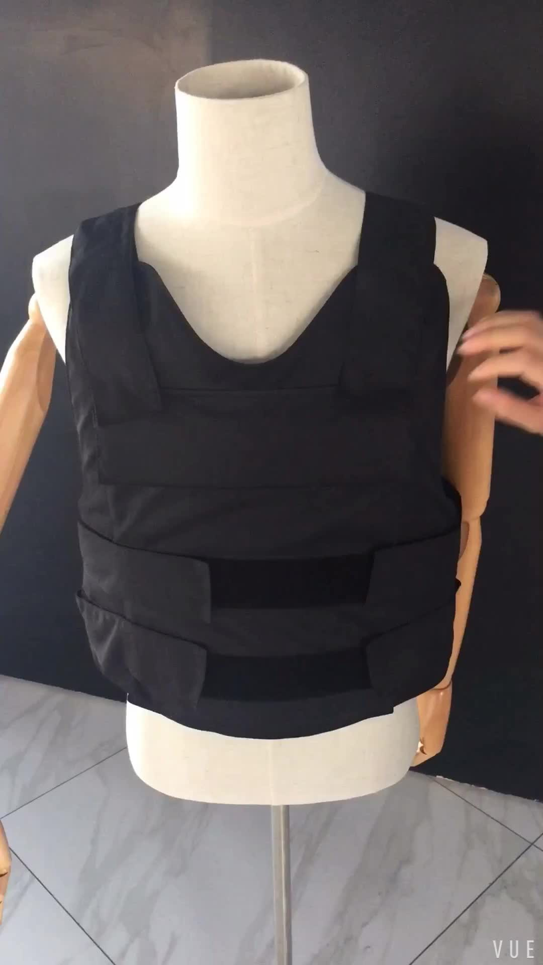 Military NIJ level IIIA body armor Bullet proof Vest for Police/Army user chaleco antibalas