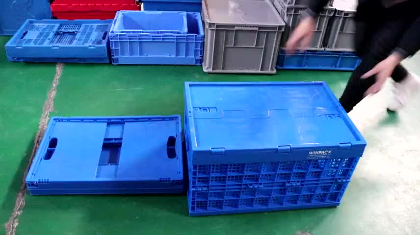 Collapsible Crate With Handles Collapsible Shipping Crates