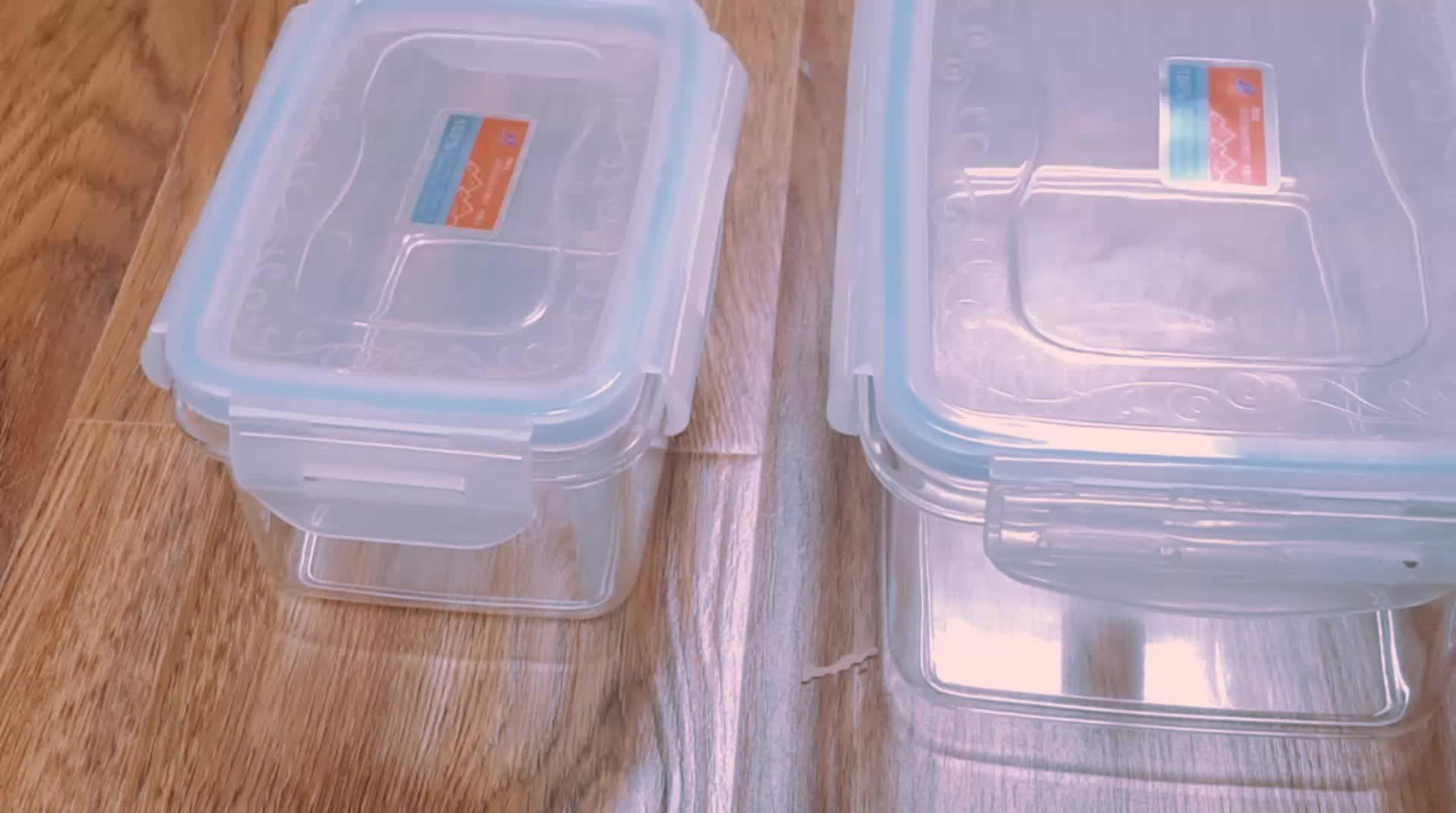 Vakumlu Taze Kutu / Gıda Kabı / Gıda için Saklama Kabı