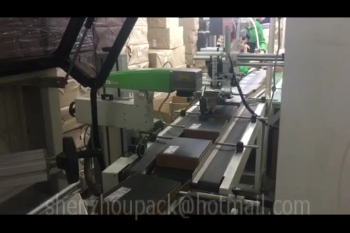 Automatic L Type Heat Shrink Wrapping Machine with L Bar Sealer Shrink Tunnel