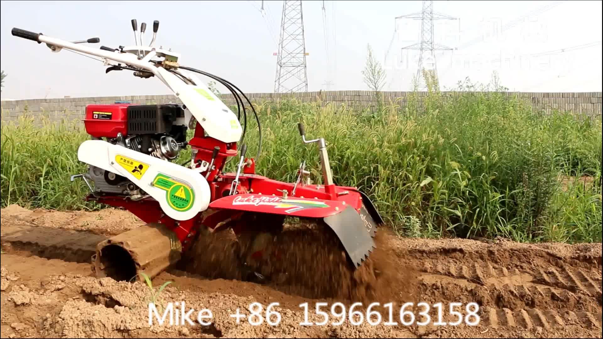 Ferramentas simples da exploração agrícola 3TG-6YP com rebento giratório / ridger / ditcher / hilling up / mulch filme e semeador para venda