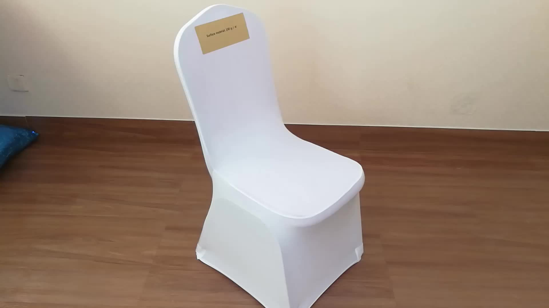Jiacheng Hot Sale Spandex White Chair Covers For Wedding