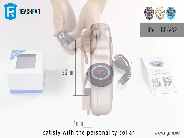 New Premium Mini Waterproof Pet GPS Dog Collars Tracker For Cat Dog