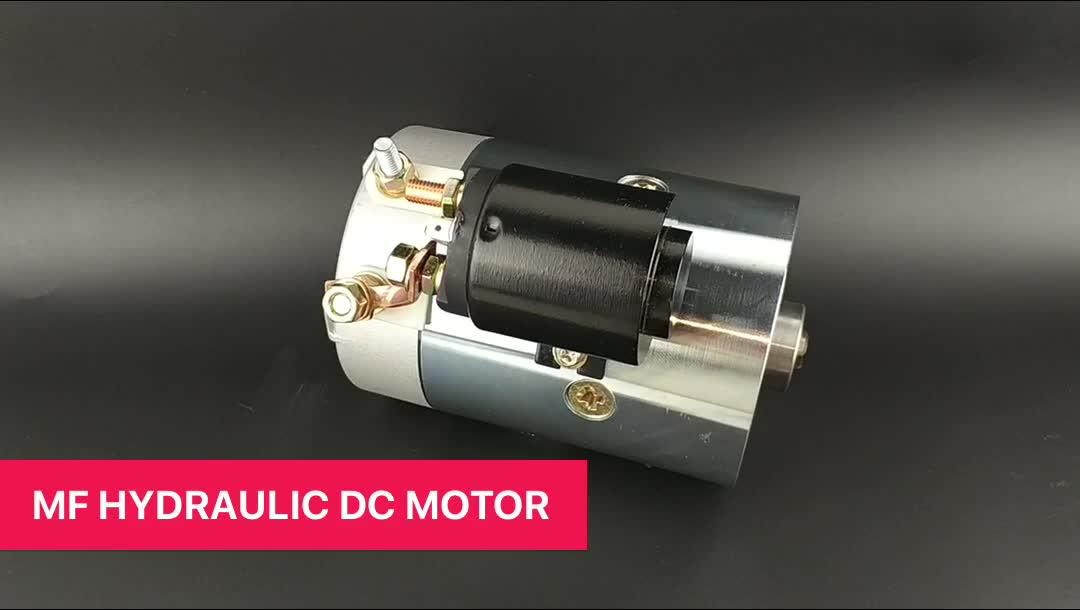 12V डीसी मोटर के साथ 2KW उच्च शक्ति ब्रश मोटर पंप आयुध डिपो 114mm के लिए डंप ट्रक