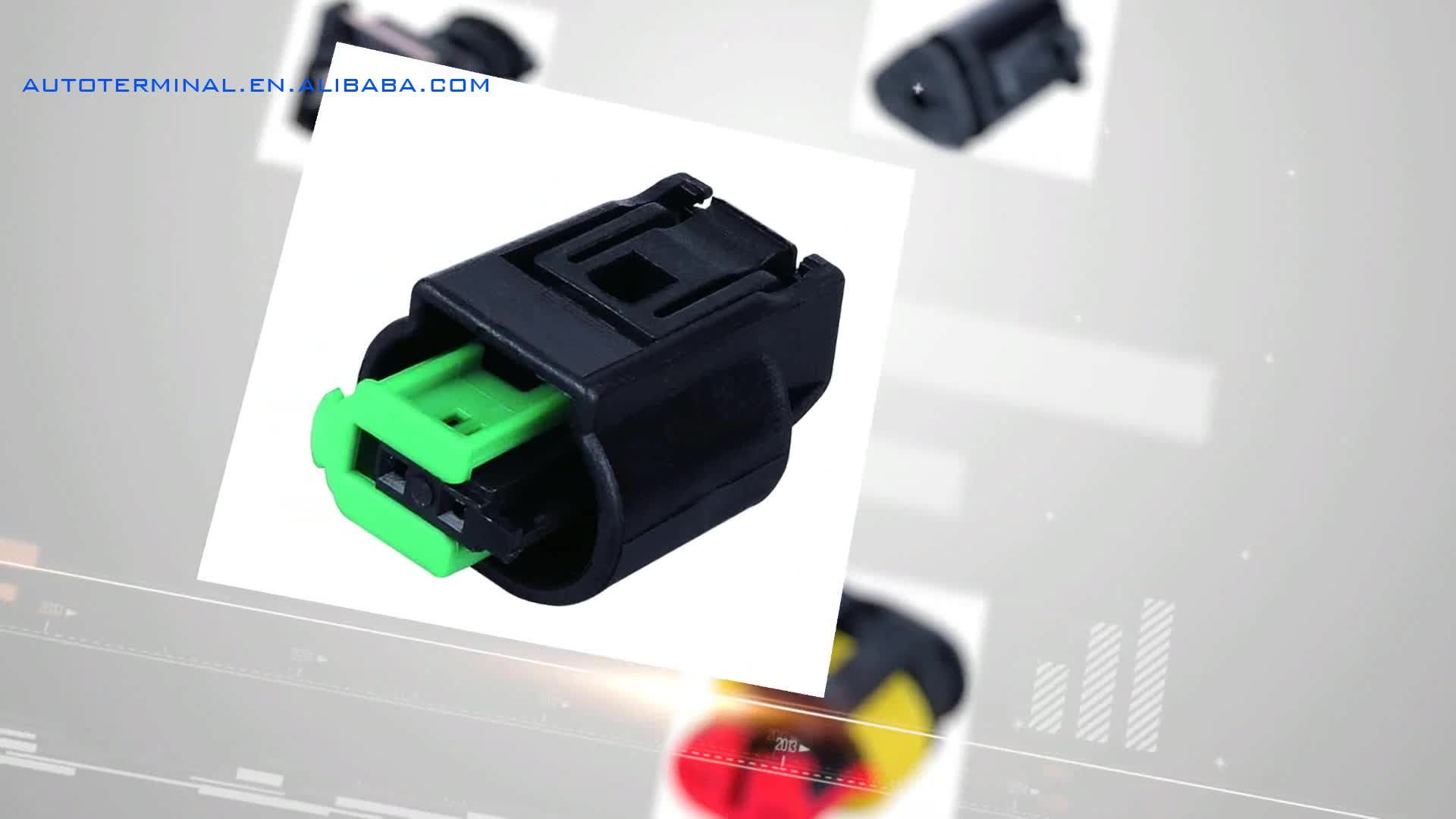 Dj7031y 23 21 Gm Wire 3 Pin Battery Connector Waterproof Plug And Wiring Connectors Socket With