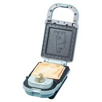 日本Bruno早餐三明治机家用面包小型多功能轻食机一体神器三文治