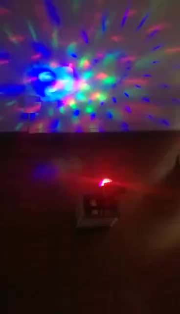 2018 NEW Outdoor Solar Powered Outdoor Stage Lighting RGB Effect Laser Projector Decorative (JL-8590)