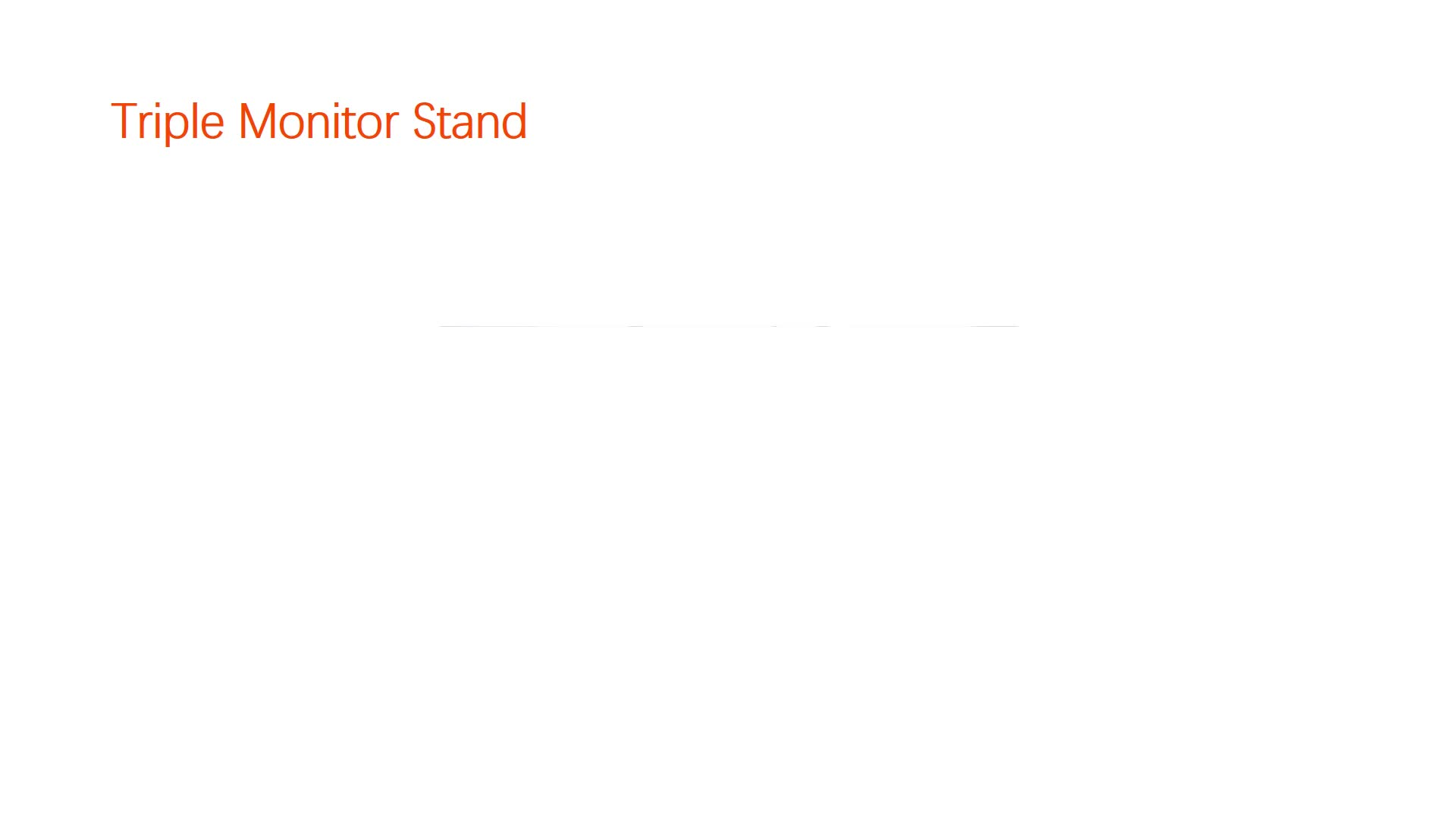 Adjustable computer accessories monitor stand Height adjust monitor stand Monitor arm (BEWISER D2037)