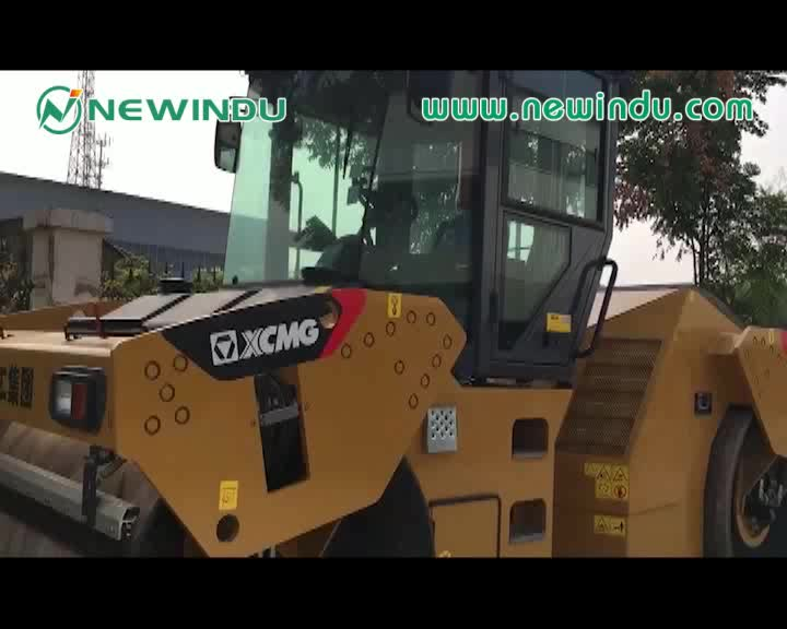 Hot sale 14 ton road roller price XD142 price with high quality