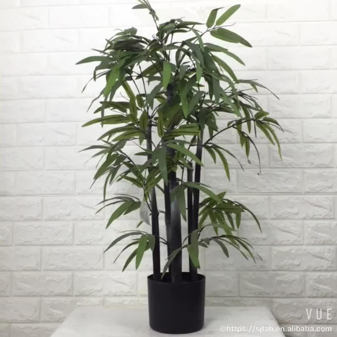 Pas cher caf couleur tronc chanceux artificielle plante de bambou pour la d coration buy - Tronc de bambou decoratif ...