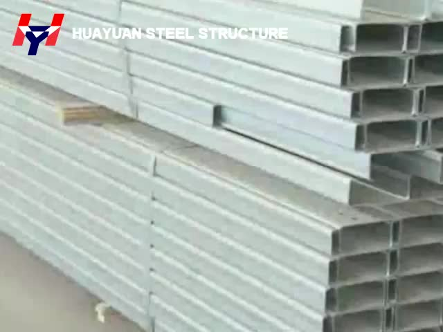 New design ready made steel structure warehouse building , light  steel structure construction workshop
