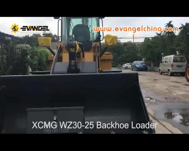 4WD small Backhoe Loader WZ30-25 new backhoe prices