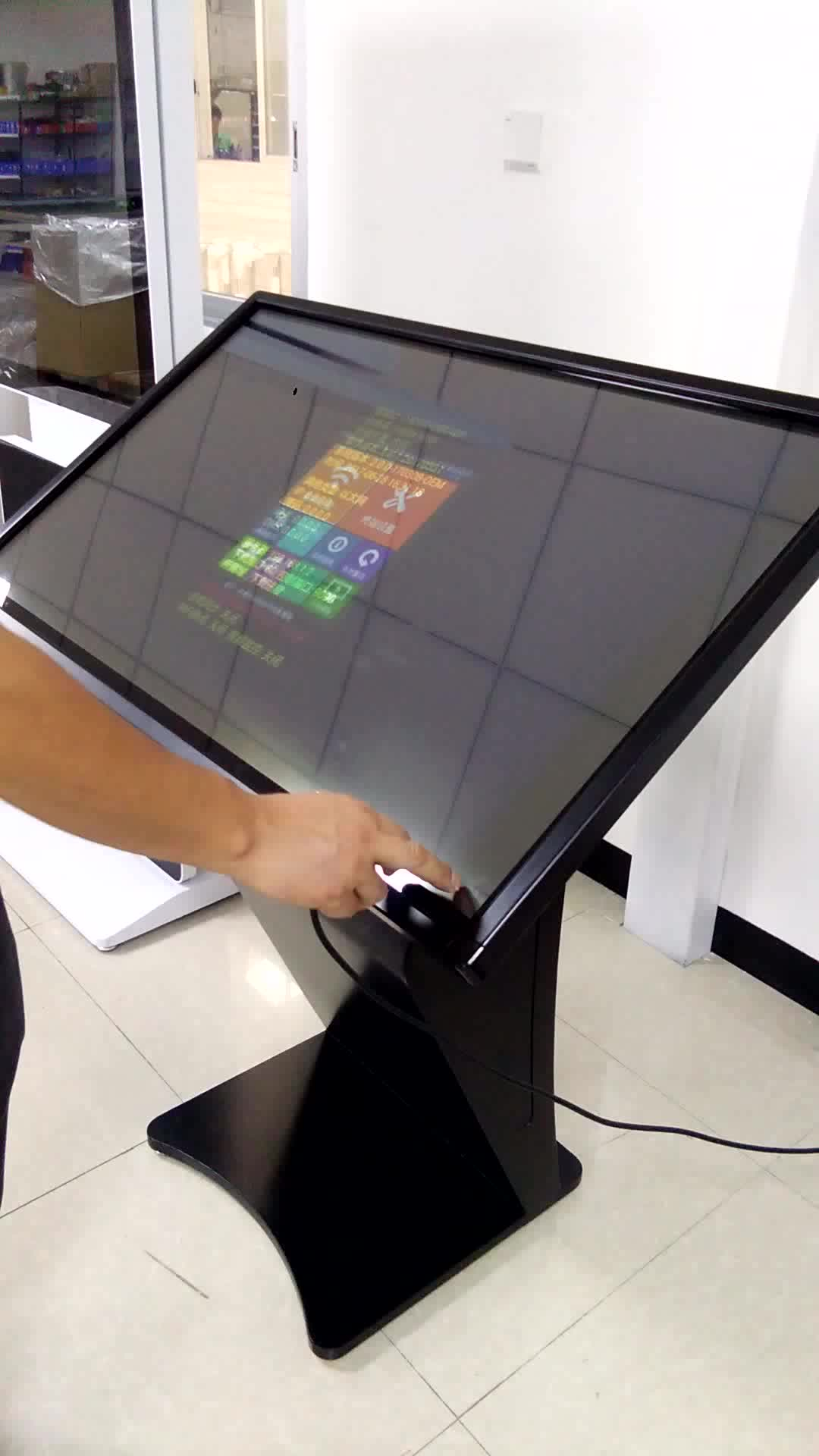 Lcd Touch Screen Kiosk touchscreen All In e Pc Design media