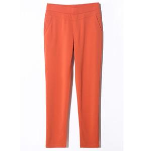 妈妈裤子夏季新款高腰九分裤休闲裤