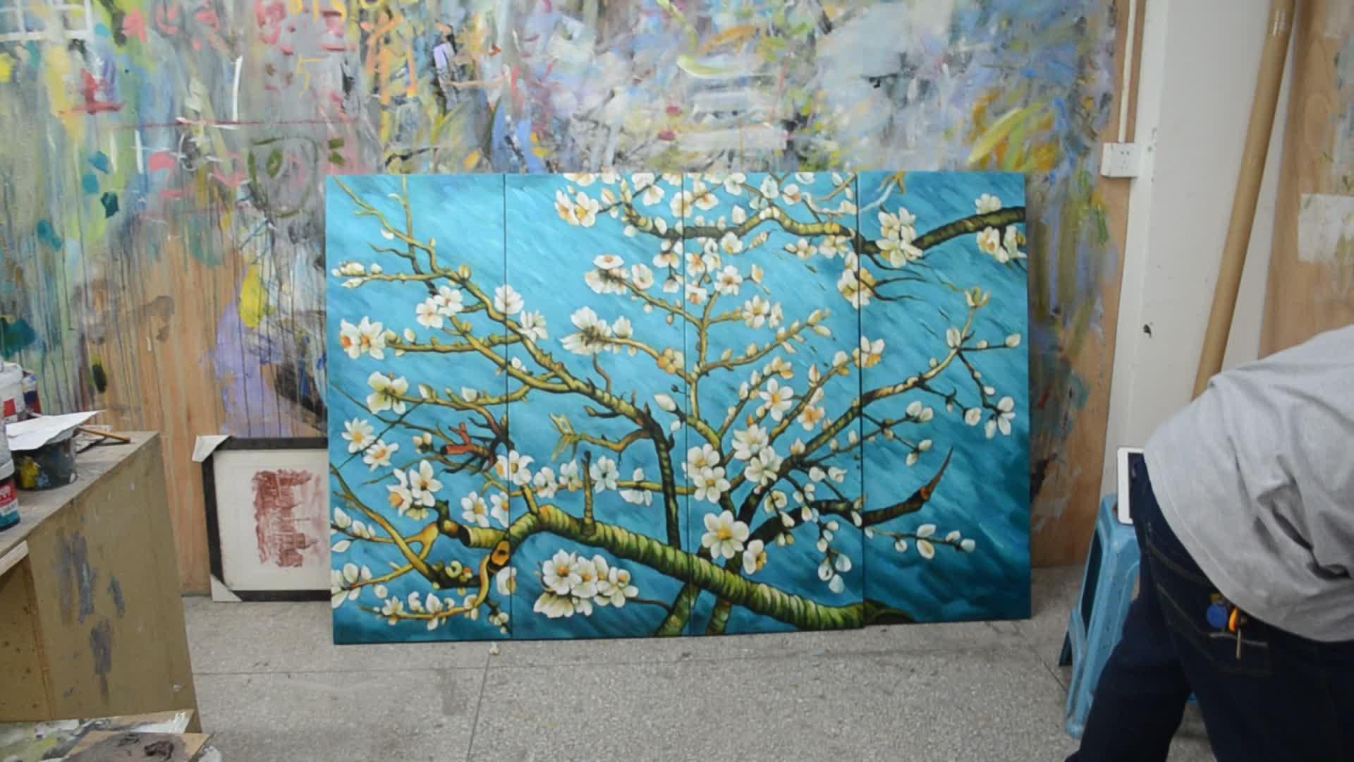 Vincent Van Gogh Reproducción Pinturas Al Óleo Moderno Extra Grande ...
