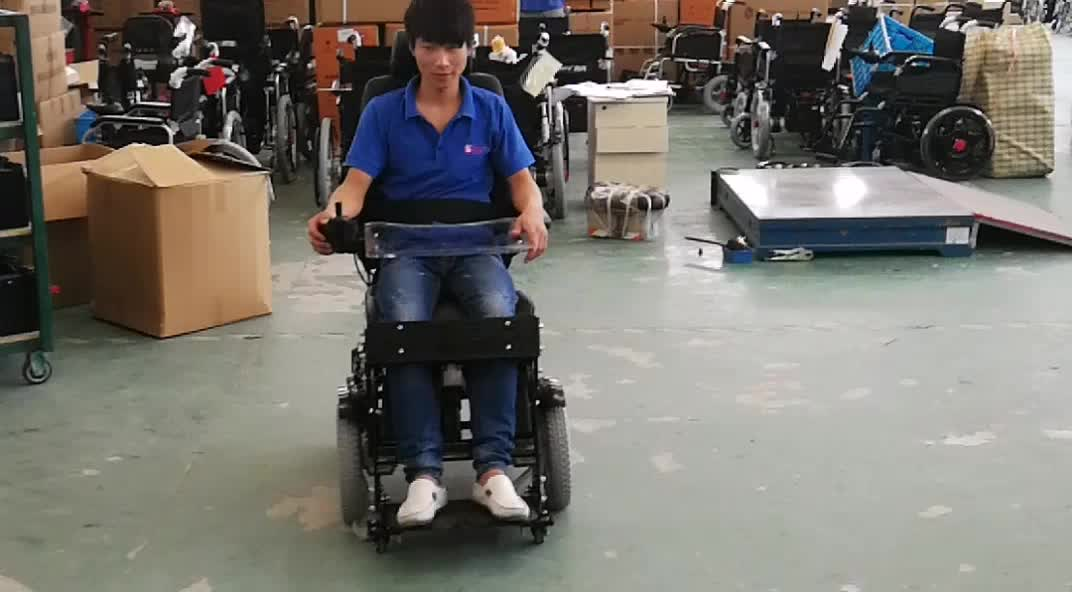 standing orthopedic electric wheelchair for indoor use