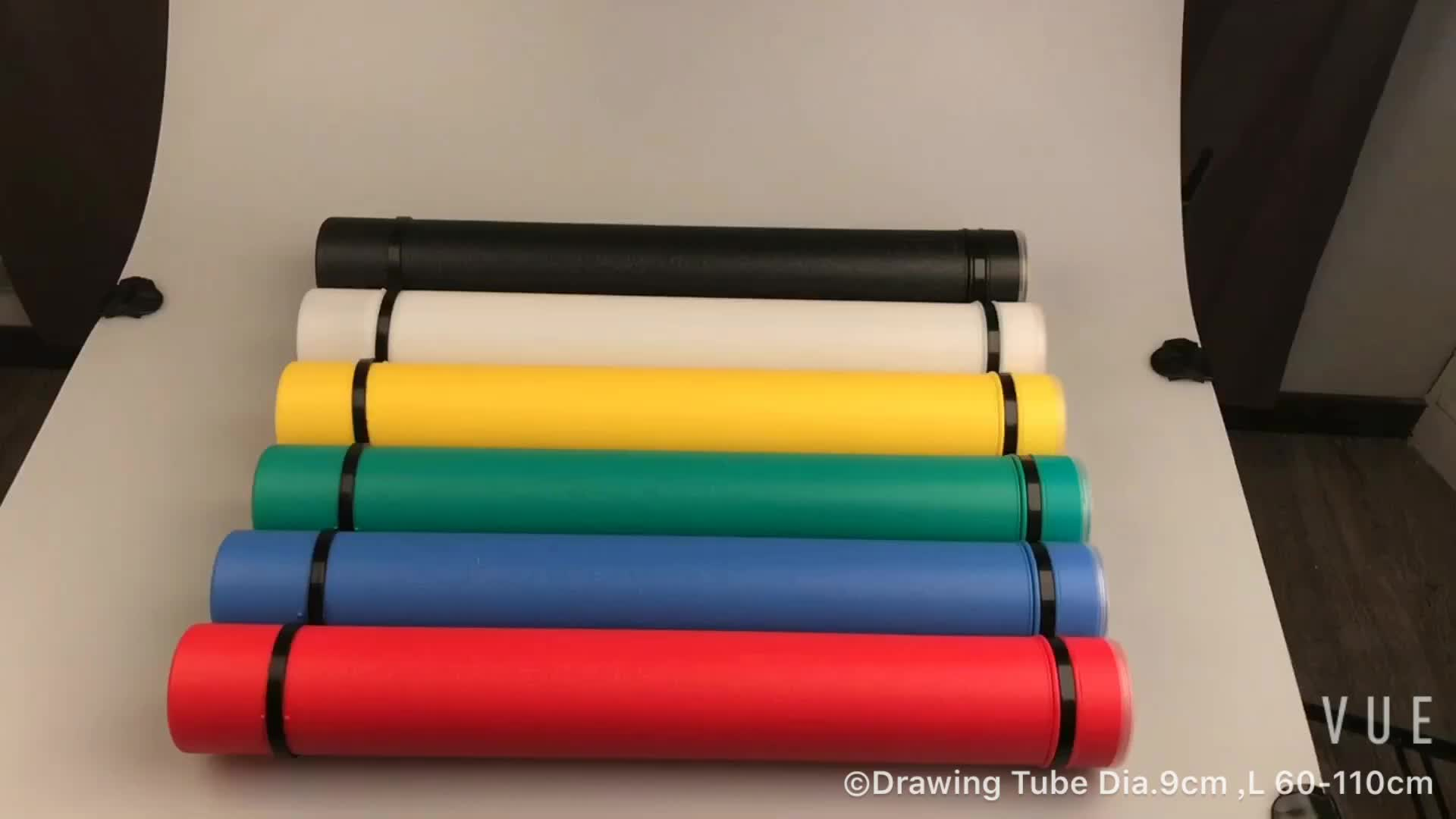 Storage Tubes & Poster Tubes for storing & carrying documents, drawings, blueprints, maps
