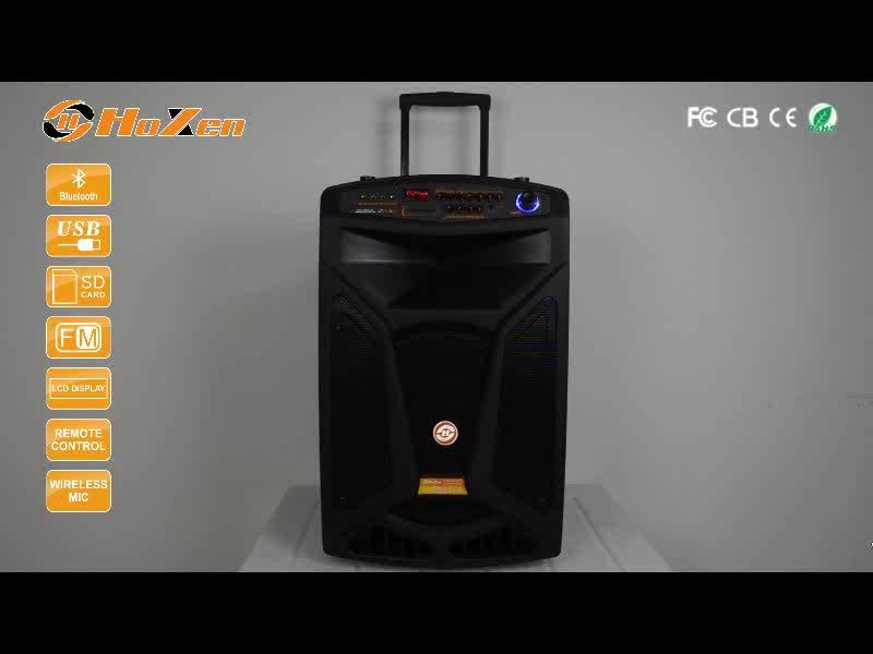 Top quality 18 inch pro battery subwoofer speaker with rapid delivery