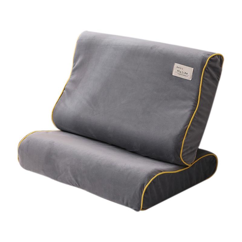 单人一对单个40x60珊瑚绒乳胶枕套评价好不好