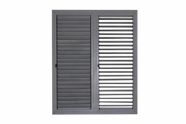 Louvered french doors aluminium shutter plantation shutters fixed aluminum louvered door Aluminum exterior plantation shutters