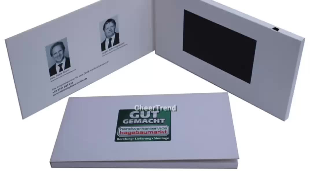 video brochure for promotional items new products 2013