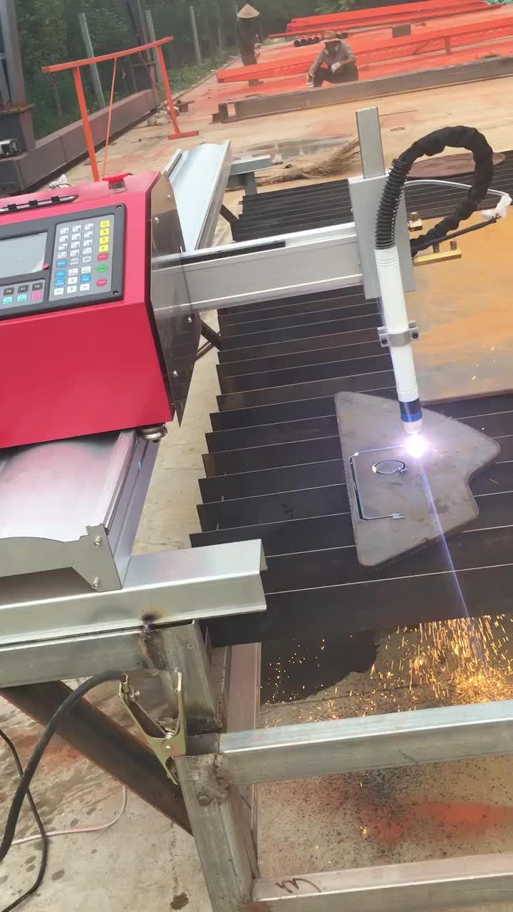 2017 Terbaik jual produk mesin Otomatis/CNC logam mesin pemotong/mesin plasma dengan harga termurah dari Cina