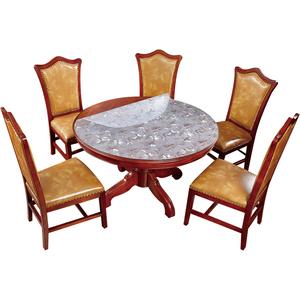 软玻璃圆桌桌布防水防油免洗pvc
