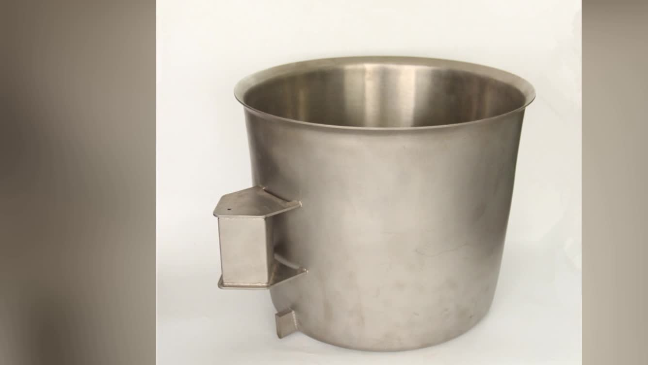 OEM customized stainless steel bucket
