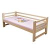 实木带护栏男孩松木加宽拼接儿童床质量好不好