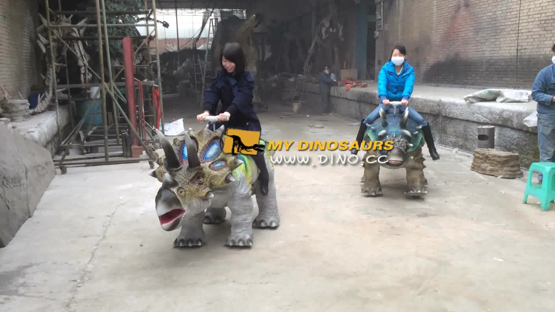 MY Dino-N28-003 Hot sale new design dinosaur walking kids rides