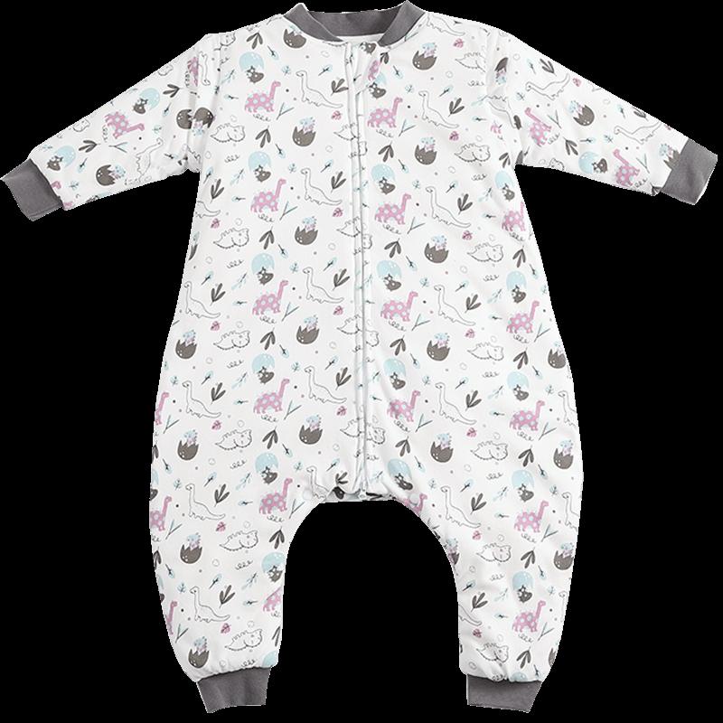 宝宝睡袋儿童四季通用款防踢被分腿秋冬款中大童纯棉小孩加厚婴儿