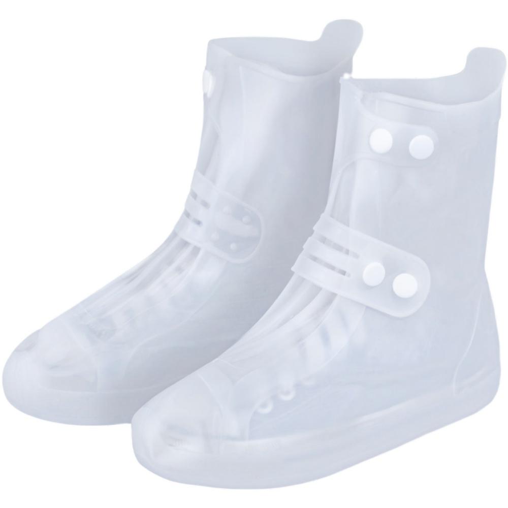 男女式儿童防雨鞋套时尚款外穿雨靴评价如何