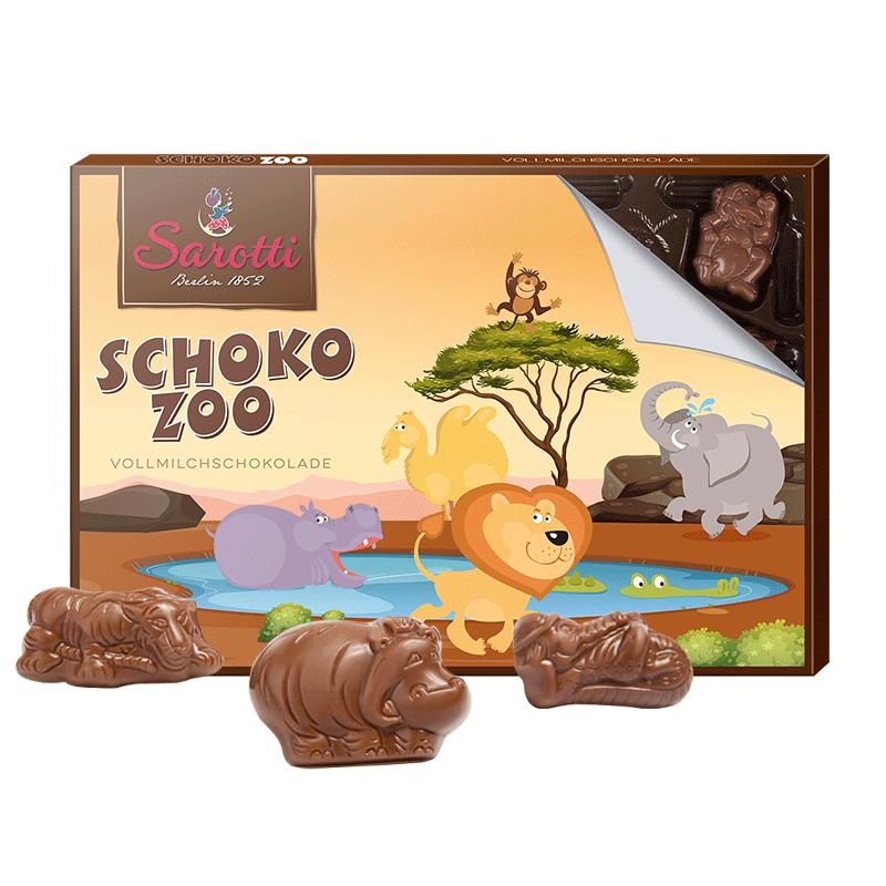 萨洛缇进口牛奶巧克力生日礼物礼盒小朋友趣味零食糖果买一送一