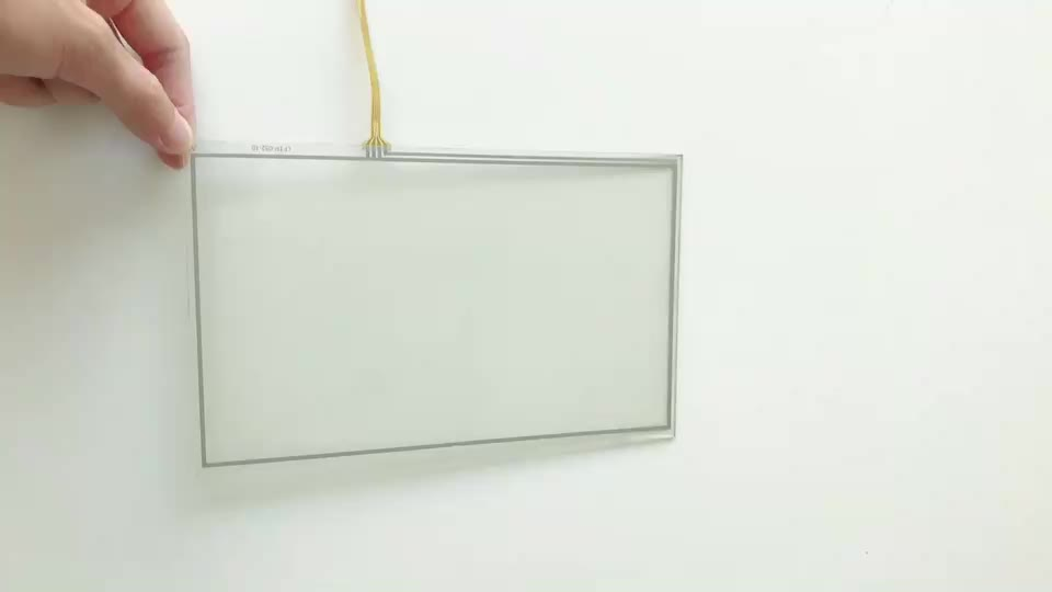 2017 best selling 4-wire Analog Resistive industrial touch screen panel