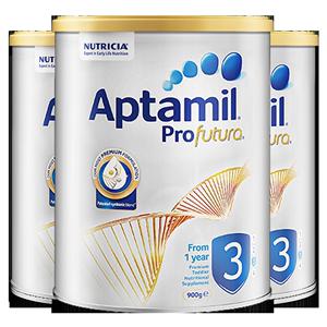 【直营】新西兰aptamil白金版*奶粉