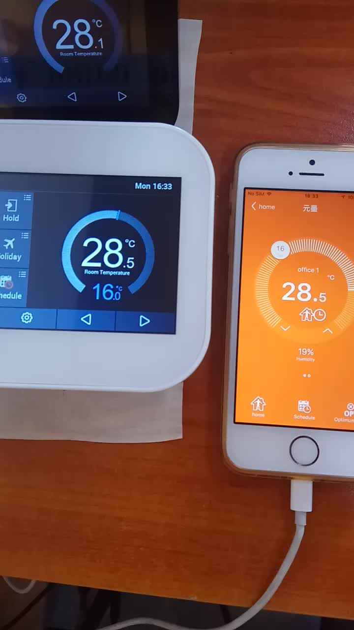 FAN COIL THERMOSTAT / WIFI