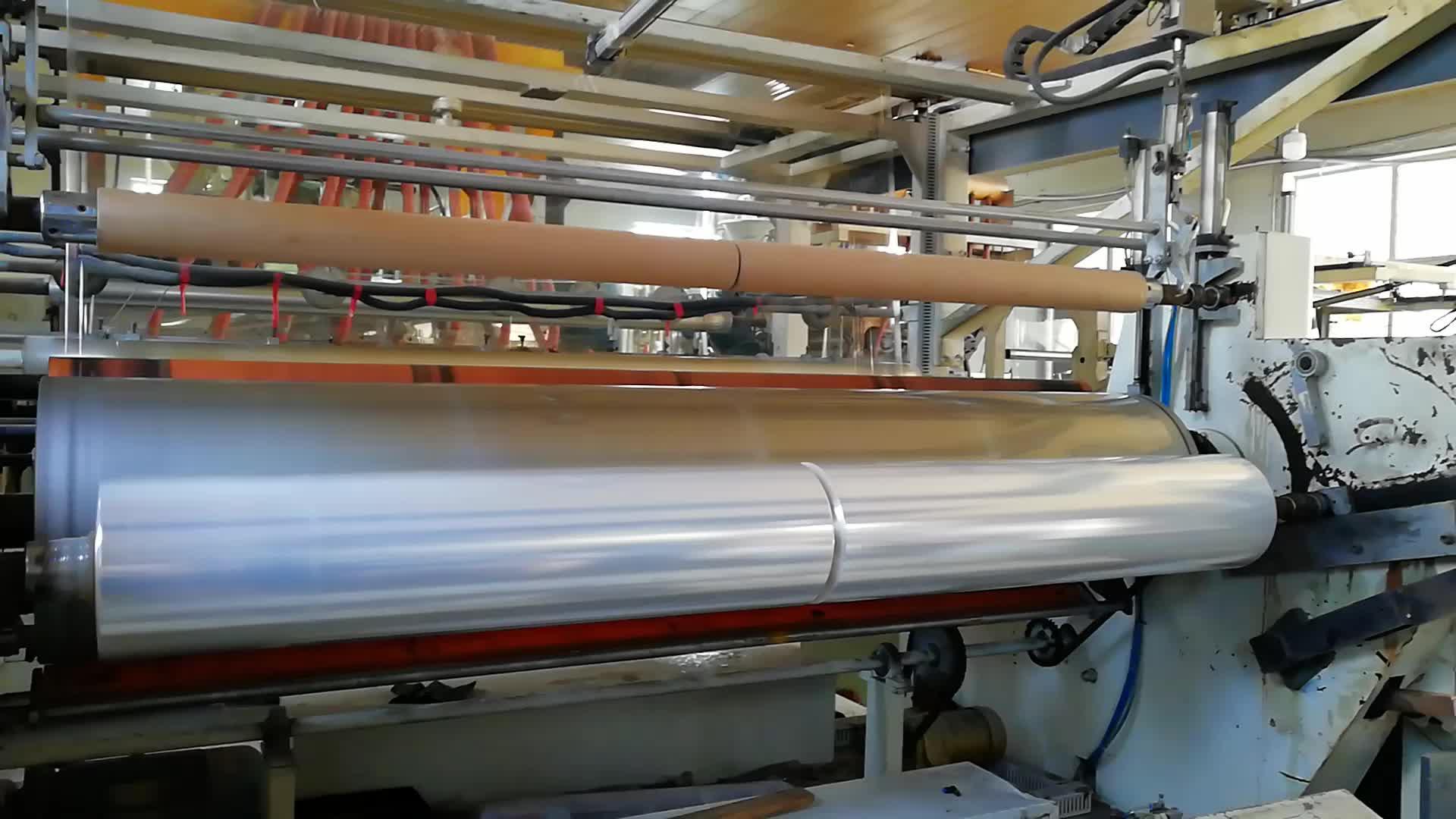 LLDPE trasparente termoretraibile rotolo di 20 micron film estensibile