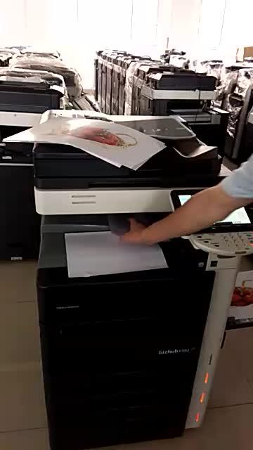 ใช้การพิมพ์ดิจิตอลสำหรับ Konica Minolta Bizhub C652 C552 C452 ใช้สำเนาเครื่องโดยตรงภาพ DI เครื่องพิมพ์