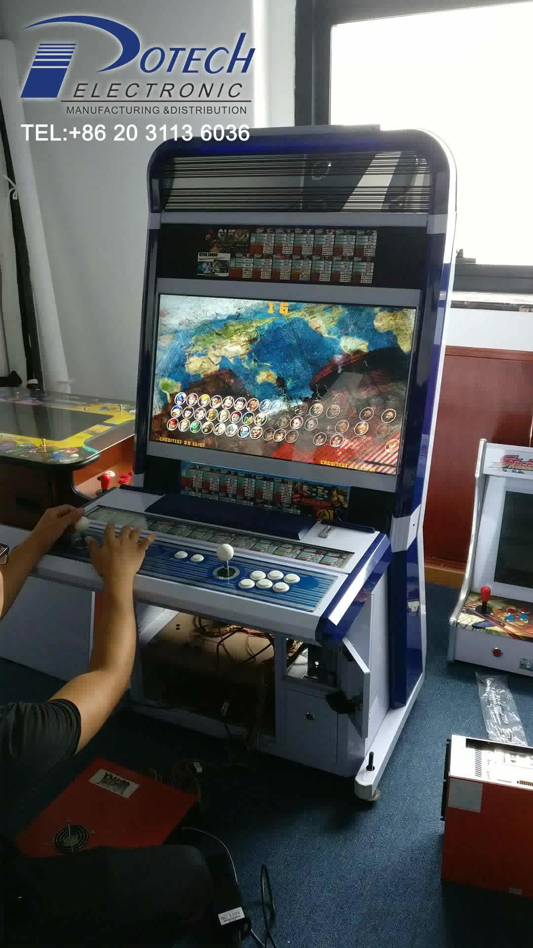 taito vewlix-l cabinet arcade game machine with super street fighter 4 & Taito Vewlix-l Cabinet Arcade Game Machine With Super Street Fighter ...