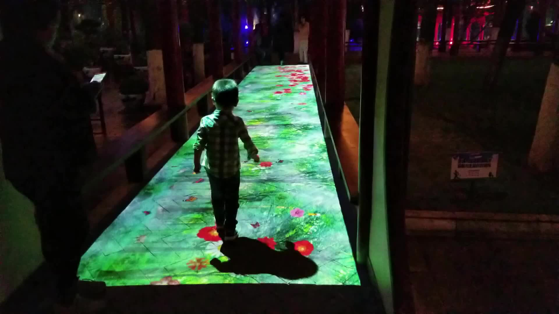 Multi Screen Interactive Floor Projection System