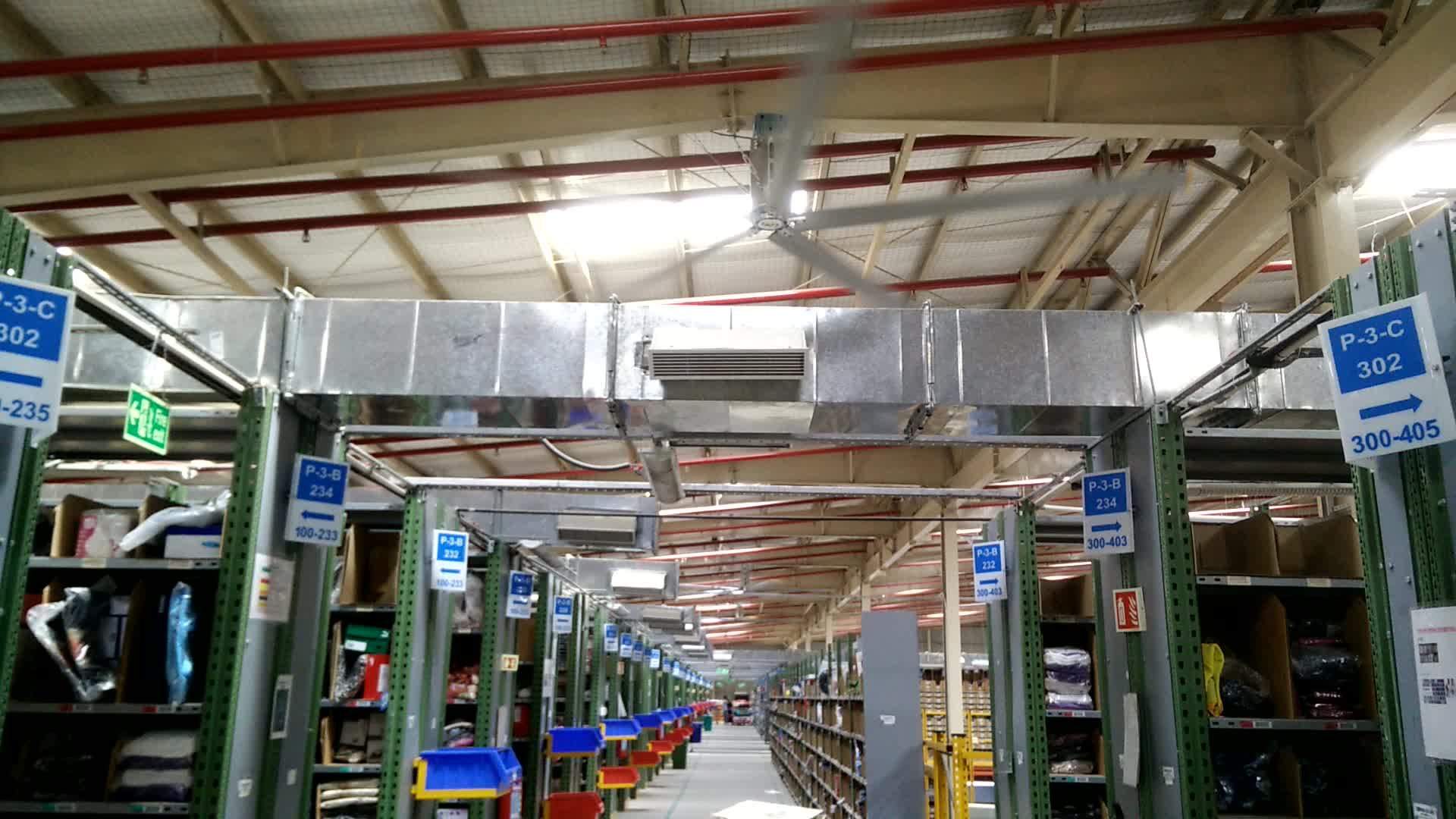 China Best Price Electric Low Speed Warehouse Ceiling Fan
