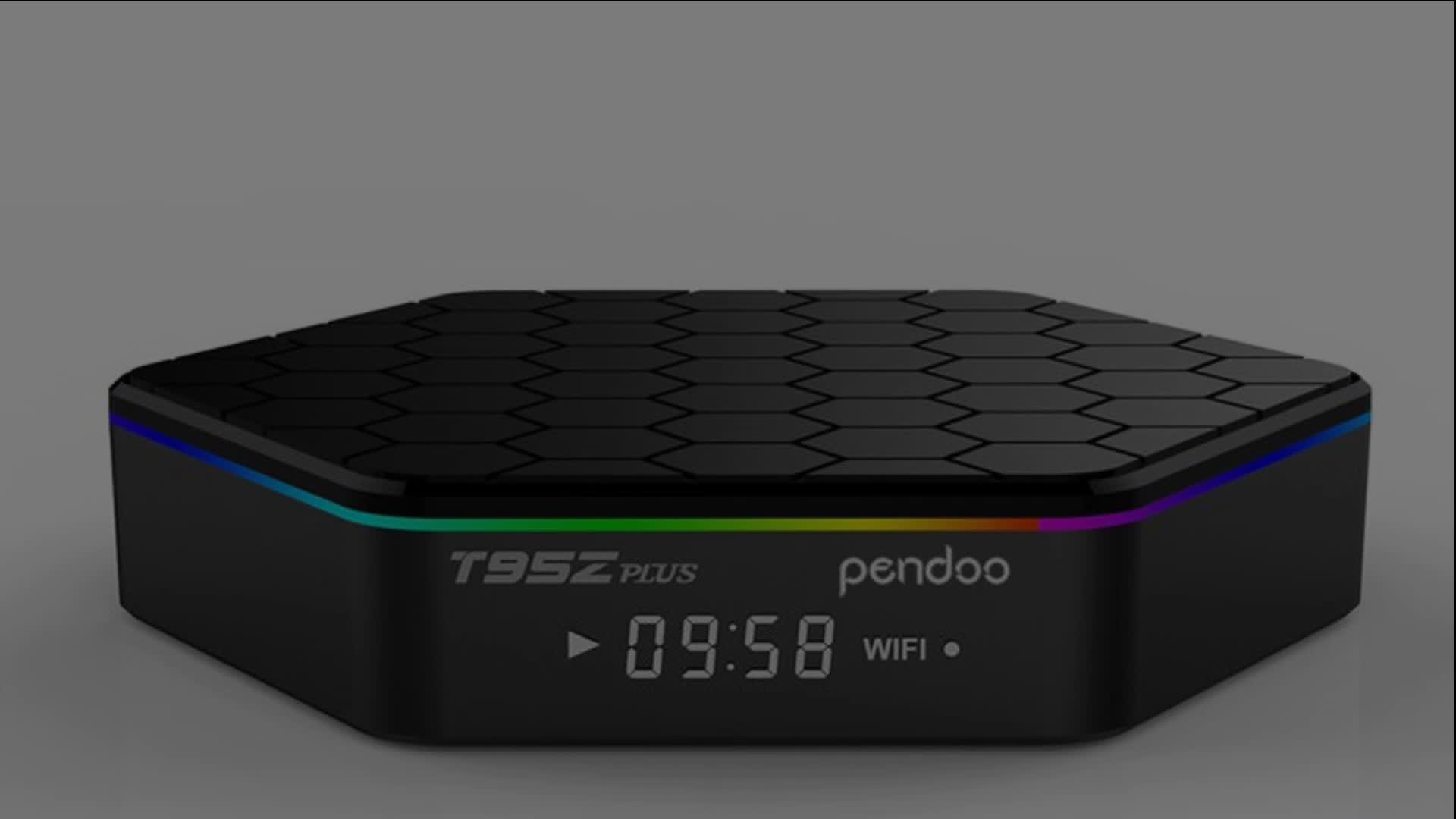 Hot sales Pendoo T95Z Plus S912 2G 16G 8k android tv box made in China Android 6.0 TV Box