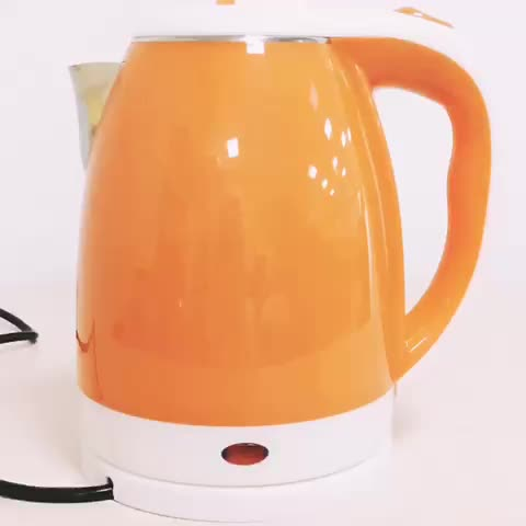 home appliance electric fast boil  several colors 1.8l double wall electric kettle