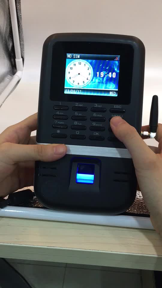 HF-BIO200 Price Wireless WIFI Biometric Fingerprint Employee Time Calculator Attendance Machine