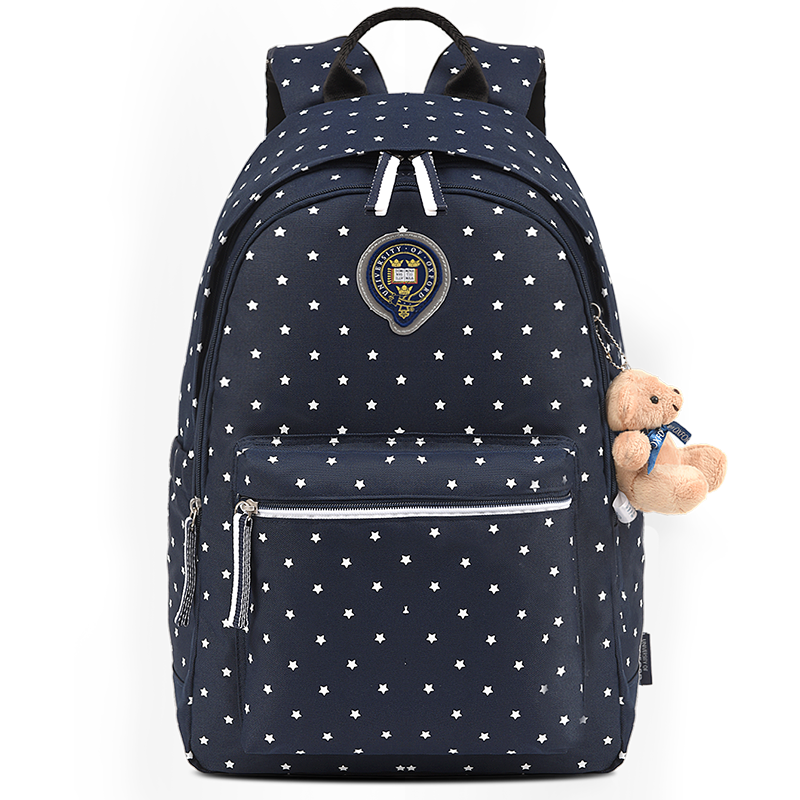 初中生书包女中学生牛津大学高中生双肩包大容量韩版校园女生背包