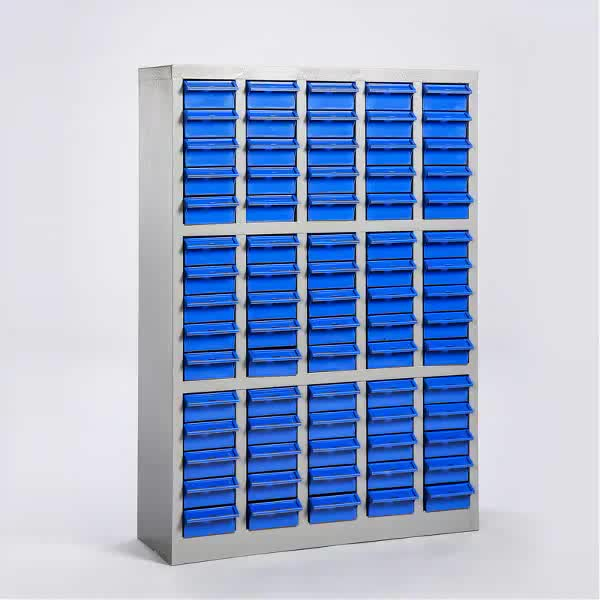 2018 NEW DESIGN 75 Drawers parts cabinet&small parts Storage cabinet with plastic box